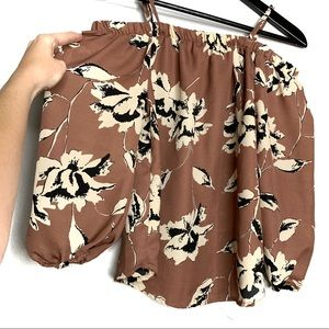 Blush Tops - Blush Floral Long Sleeve Blouse Top